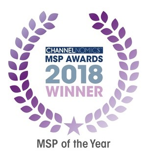 2018 Channelnomics MSP of the Year Award Winner Logo