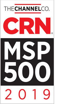 2019 MSP 500 Award Logo