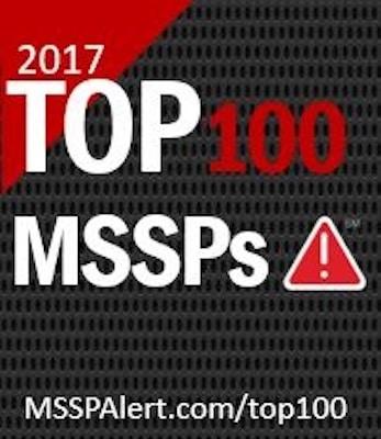 2017 Top 100 MSSPs Award Logo