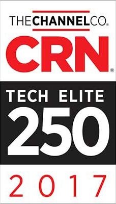 2017 CRN Tech Elite 250 Award Logo
