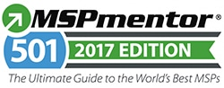2017 MSPmentor Top 100 MSPs Award Logo