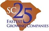 Top 25 Fastest Growing Companies in South Carolina Award Logo
