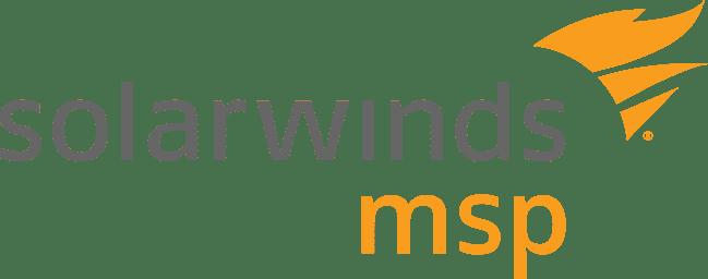 2018 Solarwinds MSP of the Year Award Winner Logo