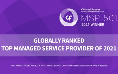 Corsica Technologies Recognized as One of the World's Premier MSPs