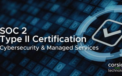Corsica Technologies Earns SOC 2 Type II Certification for Cybersecurity and Managed Services